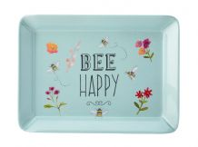 Bee Happy Blue Scatter Tray